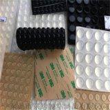 3M自粘透明玻璃脚垫, 硅胶防滑减震自粘胶垫, 电器缓冲硅胶垫