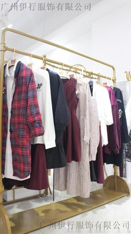 【傑西萊】17新款秋冬裝 品牌折扣女裝尾貨 一手貨源走份批發
