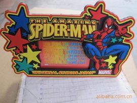 软胶蜘蛛相框,可按照客户要求定制任意logo相框