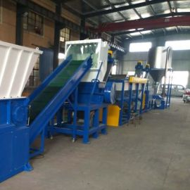 PVDC薄膜清洗线   高效塑料回收设备厂家