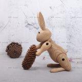 厂家批发北欧丹麦Kay Bojesen木玩兔子家居摆件木制工艺礼品