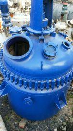 处理二手0.5-30吨不锈钢反应釜,搪瓷反应釜,