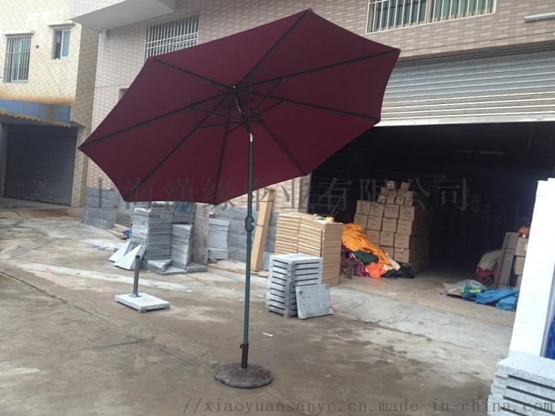 结实耐用庭院伞 户外侧立伞 公园会所咖啡馆用广告伞 户外大伞