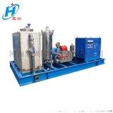 三相电驱动高压清洗机 凝结器冷凝器管道高压清洗机