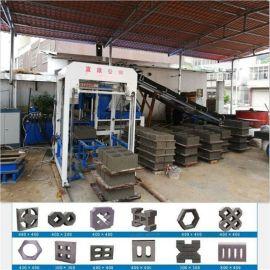 宜欣厂家直销3-15环保制砖机水泥免烧砖机一机多用