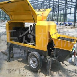 混凝土输送泵 细石二次构造柱泵上料机 厂家直供