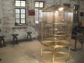 金属鸟笼工藝品 鐵艺工藝品 鐵艺鸟笼