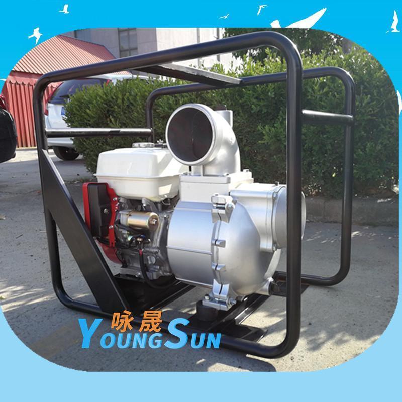 防汛小型6寸汽油機水泵