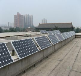 单晶 太阳能电池板光伏发电