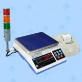巨天三色灯上下限报 电子秤高精度工业计重量报 秤声光3/6/30kg