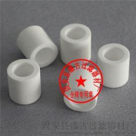 PE滤片 PE滤芯粉末颗粒烧结滤芯 塑料烧结滤芯