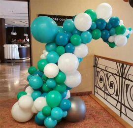 昆明花語花香氣球立柱氣球拱門氣球裝飾