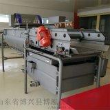 淨菜加工設備 玉米渦流清洗機 定製多功能氣泡清洗機