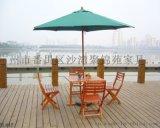 聚錦苑太陽傘 沙灘鋁架摺疊防雨直杆中柱傘