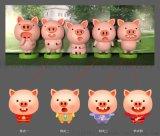 君匠猪猪新年雕塑
