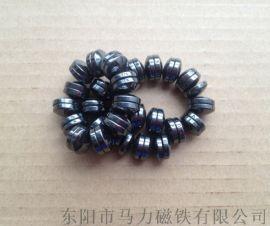 磁疗床垫磁石 双面面包磁 供应永磁铁氧体磁铁