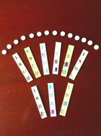 数字冰箱贴 异性同性磁条 塑料软磁铁橡胶磁条