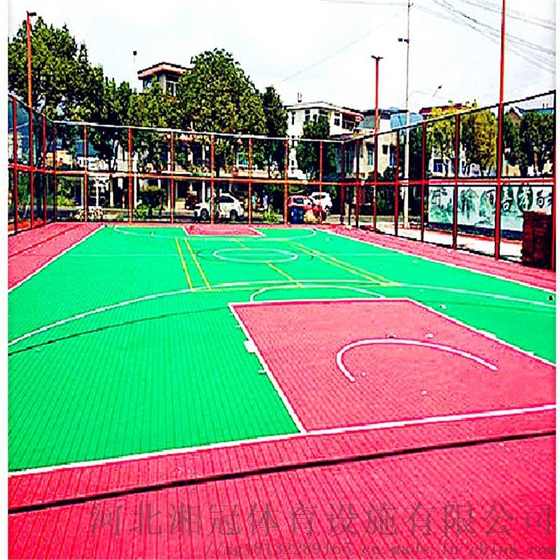 北辰区气垫悬浮地板篮球场塑胶地板拼装地板
