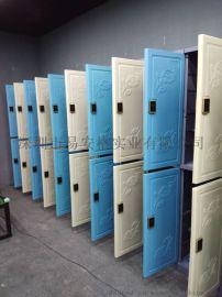 易安格塑料更衣柜储存产品塑料储物柜直销