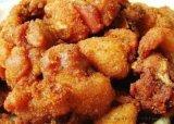 鸡块上浆裹糠油炸生产线 上校鸡块油炸成套设备