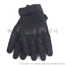 户外骑行全指手套,防风防水防滑保暖男女触屏手套