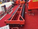 浩鴻混凝土電動攤鋪機三滾筒攤鋪路面修築更高效
