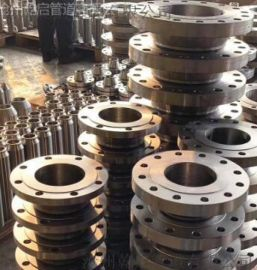 盐山法兰厂家 碳钢对焊法兰 沧州乾启现货供应