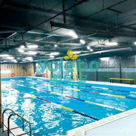 邹平健身房游泳池淄博厂家生产定做金色太阳厂家定做
