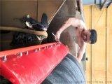 输送带头道聚氨酯清扫器刮料器 聚氨酯刮板清扫器