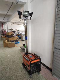 隆业供应-施工移动照明车移动式升降照明车