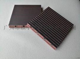 琴房KTV隔音板 生态木槽孔吸音板
