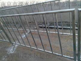南京 不锈钢铁马 移动安全围栏 商场促销隔离栏 不锈钢护栏路建