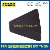 PCBN刀具 立方氮化硼刀片 富耐克RNMN整體聚晶CBN刀具 廠家直銷