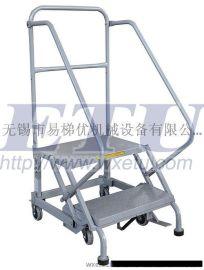 ETU易梯优,迷你型移动登高梯 特有自锁刹车机构,安全可靠