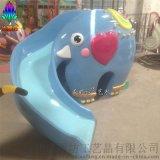 兒童樂園遊樂設施_大象滑梯玻璃鋼雕塑_來圖定製玻璃鋼雕塑