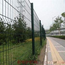 桃型柱围栏网_桃型柱围栏厂家_网孔50*200mm