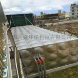 不鏽鋼保溫水箱雙層 圓柱形方形保溫水箱加工銷售