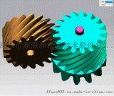 电动扫拖一体机静音齿轮箱设计