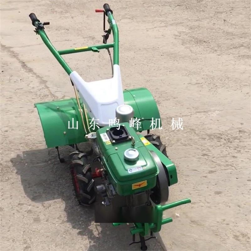 犁地旋耕手扶微耕机, 大棚种植柴油四驱微耕机