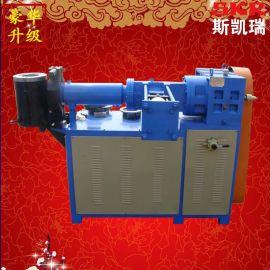 PE PVC丁基胶挤出机 橡胶管挤出机 PE PE PVC挤出机 立式