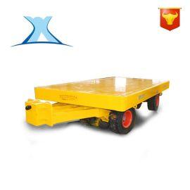 卷刚厂运输农田无轨道拖车 人工手推重载平板无动力牵引拖板车