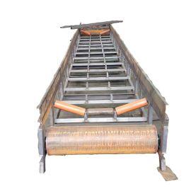 热销粮食皮带输送机 管状带式输送机 转弯皮带输送机