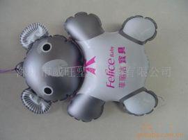 工厂专业生产PVC 充气公仔,充气礼品,广告礼品