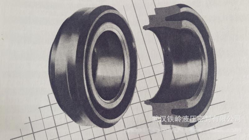 广州厂家**国产进口Parker派克EL型活塞杆密封/防尘圈规格全