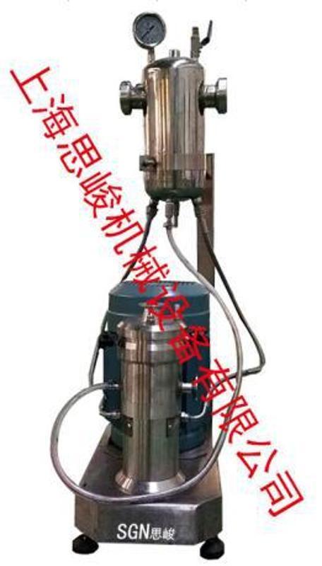 厂家直销 SGN/思峻 GMS2000/4纳米硅粉无水乙醇浆料研磨机