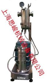 GMS2000/4纳米硅粉无水乙醇浆料研磨机