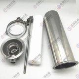 10寸管道前置过滤器 单芯家用 工业304不锈钢快装式 拉杆油水分离