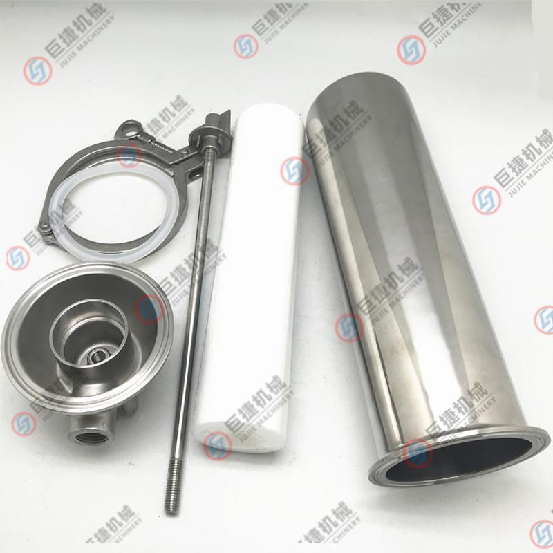 管道前置過濾器-工業304不鏽鋼快裝式拉桿油水分離