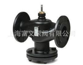 西门子法兰二通调节阀VVF53  西门子电动液压执行器SKC60
