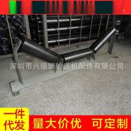 槽型托辊厂家托辊 调心输送托滚组 v型吊码托辊 摩擦托辊滚筒支架